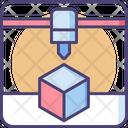 D Printer D Cube Printer Icon