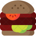 Dabel Cheese Burger Icon
