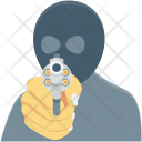Dacoit Detective Robber Icon
