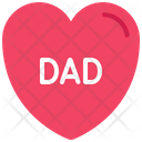 Love Dad Love Daddy Icon