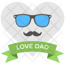 Dad Love Banner Icon