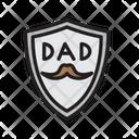 Dad Shiled Icon