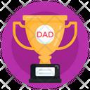 Award Dad Trophy Reward Icon