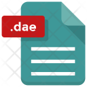 Dae File Icon