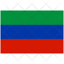 Flag Country Dagestan Icon