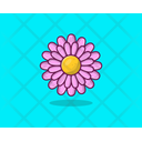 Dahlia Flower Spring Flower Agriculture Icon