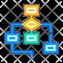 Program Hierarchy Color Icon
