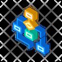 Program Hierarchy Isometric Icon