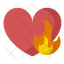 Daily Calorie Needs Heart Burn Calories Icon
