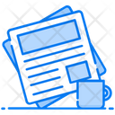 News Press Release Daily Newspaper Icon