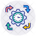 Daily Routine Daily Flow Icon