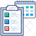 Daily Todo List List Schedule Product List Icon