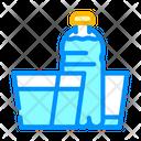 Daily Water Intake Water Intake Water Bottle Icon