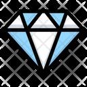 Daimond Crystal Stone Icon