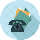 Telephone Dairy Files Icon