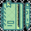 Dairy Address Bookmark Icon