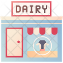 Dairy Shop Icon