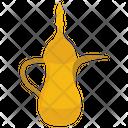 Dallah Coffee Pot Arabic Teapot Icon