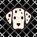 Dalmatian Dog Puppy Icon