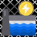 Dam Ecology Electric Icon