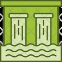 Dam Water Storage Water Dam Icon
