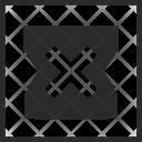 Box Stop Open Icon