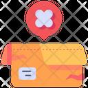 Damage Package Broken Box Icon