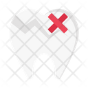 Teeth Damage Cavity Icon