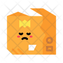Damaged Delivery Package Damaged Delivery Box Icon