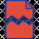 Damaged File Icon