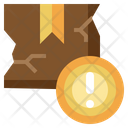 Damaged Package Icon