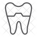 Damaged Tooth Dentist Icon