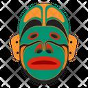 Dan Mask Tribal Mask Cultural Mask Icon
