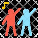 Dance Play Rhythm Icon