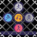 Dance Elements Icon
