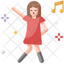 Dancer Sing Fun Icon