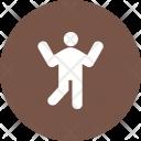 Dancing Human Activitiy Icon
