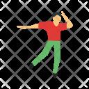 Dancing Human Activity Icon