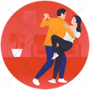 Dancing Couple Icon