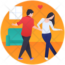 Dancing Couple Icon
