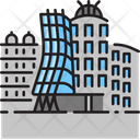 Dancing House Architecture Building Icon