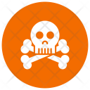 Danger Skull Scary Icon
