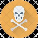 Danger Skull Bones Icon