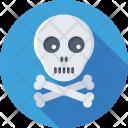 Danger Toxic Bones Icon