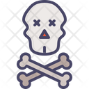 Skull Death Warning Icon
