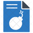 Danger File Virus Icon