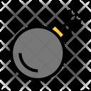 Danger Firework Bomb Icon