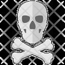 Jolly Roger Skull Bones Icon