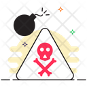 Logic Bomb Malware Cyber Bomb Icon