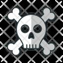 Danger Skull Head Skull Icon